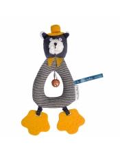Les Mousteches (Джентльмены) Погремушка котик Alphonse 666012