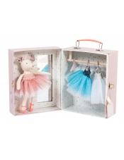 Давным-давно Мышка-балерина с чемоданчиком-гардеробной.